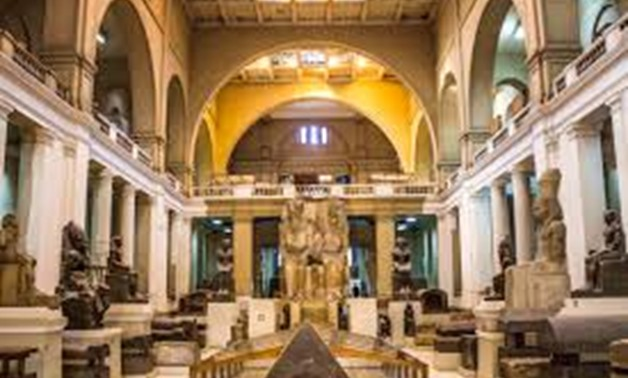 FILE - Egyptian Museum in Tahrir.
