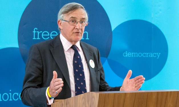 Sir Gerald Howarth - photo courtesy to his twitter account