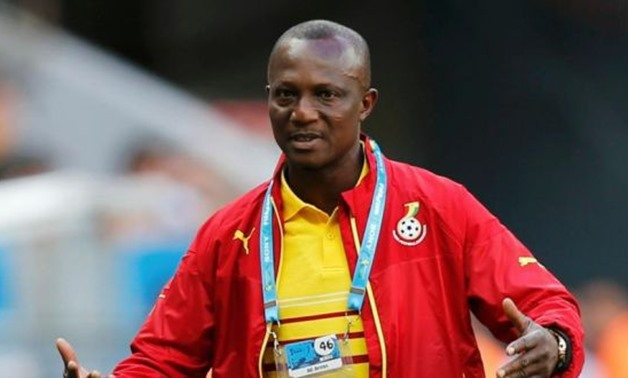 File- Ghana Coach James Appiah