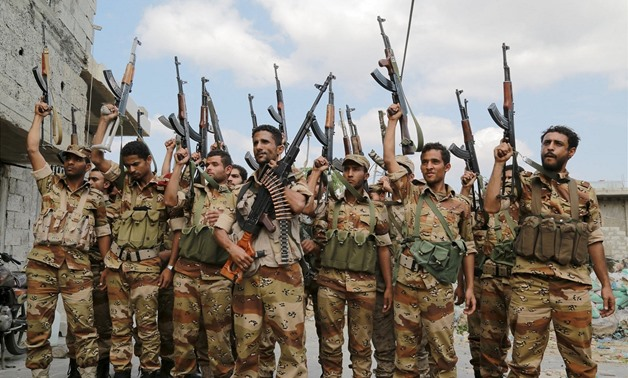 Around 10 of the Houthi rebels were killed and several others injured as a result of the ongoing fighting in al-Bayda, said the statement - Reuters