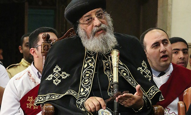 Pope Tawadros II - File photo