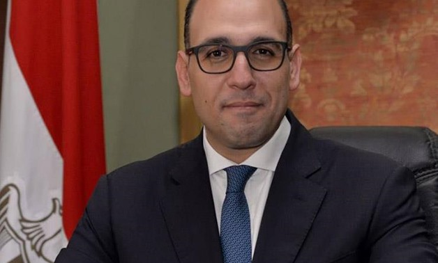 FILE- Foreign Ministry Spokesman Ahmed Hafez