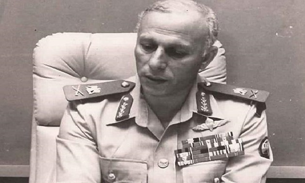 FILE - Commander of Thunderbolt Forces during the War of Attrition against Israel Major General Nabil Shokry