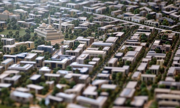 Model of the administrative capital - FILE