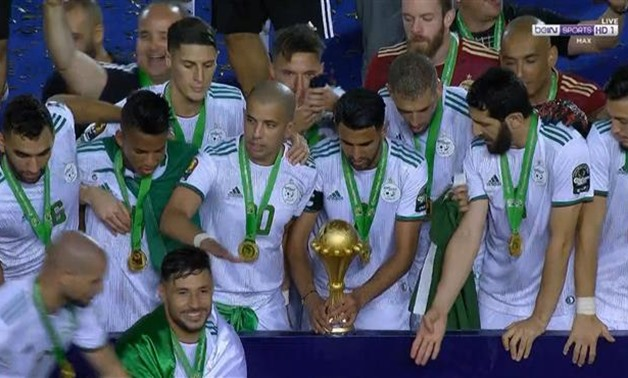 File- Algeria crowned champions of Africa with a 1-0 win over Senegal in Cairo stadium.