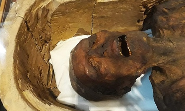 The screaming mummy located in the Egyptian Museum - AFP photo