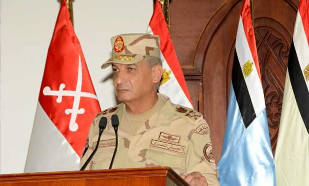 Commander-in-Chief of the Armed Forces and Minister of Defense and Military Production Mohamed Zaki