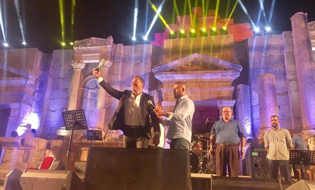 FILE - Maged el Masry at Jerash Festival.
