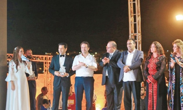Launching of the Jerash Film Festival - Press photo.