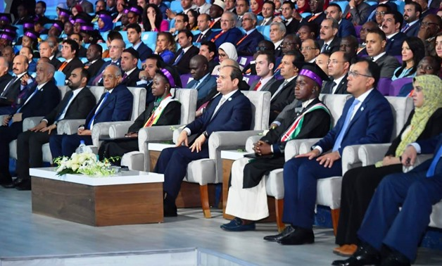 President Sisi Sisi on Wednesday announced a bunch of decisions at the closing session of the seventh National Youth Conference, July 31, 2019 - Egypt Today