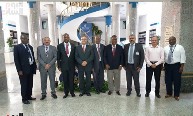 A Tanzanian delegation visits Egypt for more cooperation in aviation field- press photo