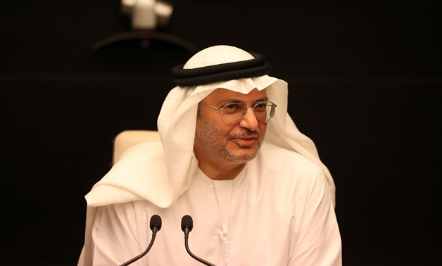 FILE: UAE's Minister of State for Foreign Affairs Anwar Gargash
