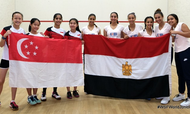 Youth Women Egyptian team - FILE