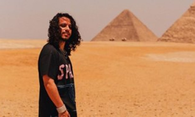 Vitale in his visit to the Great Pyramids - ET