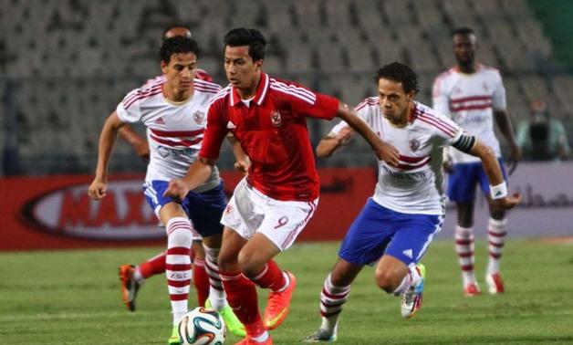 Al Ahly vs Zamalek - FILE