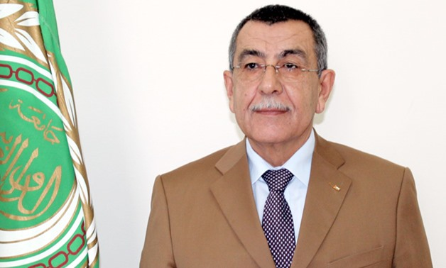 FILE: Arab League's Assistant Secretary General for Palestinian and Occupied Arab Lands Affairs Saeed Abu Ali
