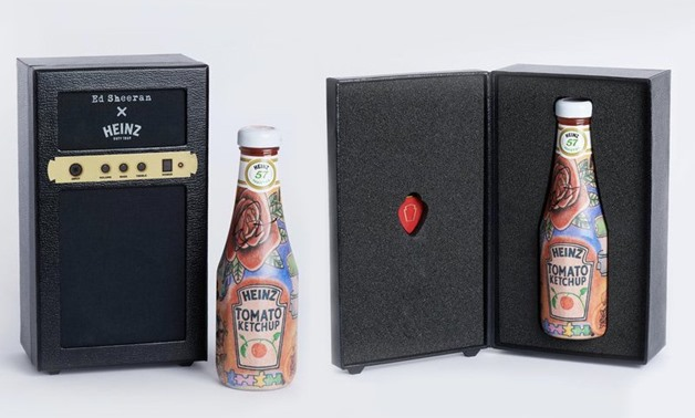 Only 150 'Ed Sheeran x Heinz' bottles were made, with most up for grabs via a giveaway.