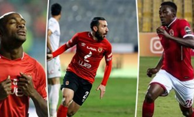 Al Ahly players - FILE