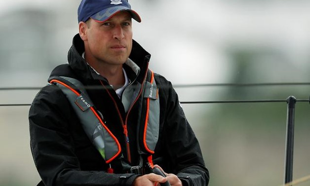 FILE PHOTO: Britain's Prince William attends the King's Cup Regatta in Isle of Wight, Britain August 8, 2019. REUTERS/Peter Nicholls/Pool