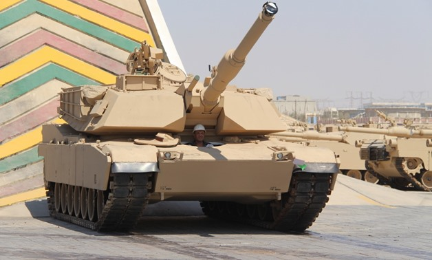M1A1 Abrams tank 95 percent manufactured in Egypt's Factory 200 - Ministry of Military Production
