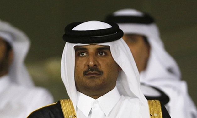 Emir of Qatar Sheikh Tamim bin Hamad al Thani - File photo