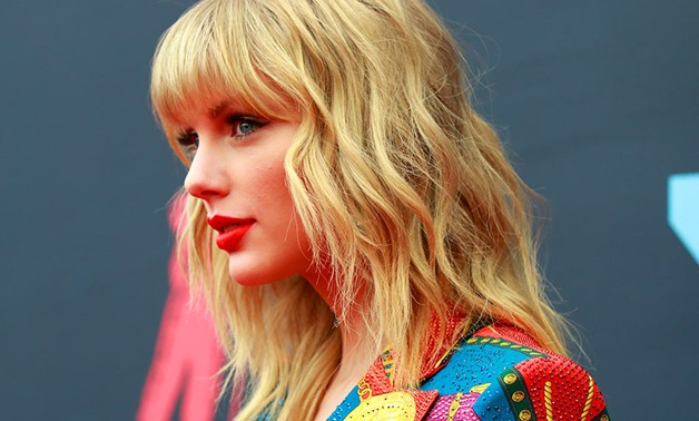 Taylor Swift attends the 2019 MTV Video Music Awards at the Prudential Center in Newark, New Jersey, US on Aug. 26, 2019. Caitlin Ochs, Reuters