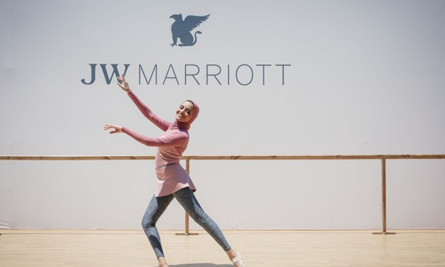 JW Marriott Hotels & Resorts welcomed the passionate Egyptian ballerina, Engy El Shazly, to her home city to host an immersive barre class