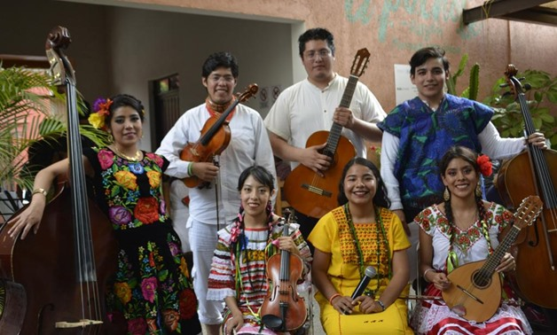 Alma de Cuerdas Mexican ensemble to perform at Cairo Opera House to mark the 209th celebration of the Mexican Independence Day - Press photo