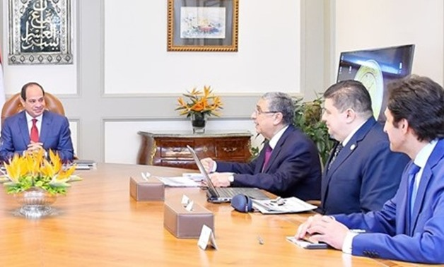 In a meeting with the Prime Minister Mostafa Madbouly, Minister of Electricity Mohamed Shaker, and Chairman of the Nuclear Power Plants Authority Amgad al-Wakeel, Sisi stressed the necessity to ensure the highest safety standards in all stages of construc