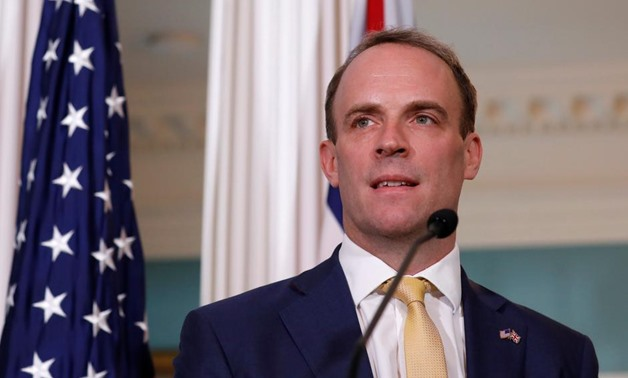 British Foreign Secretary Dominic Raab - Reuters