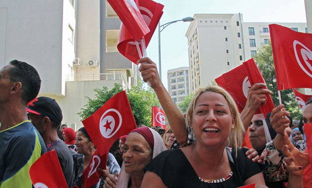 The Tunisian presidential election is witnessing an acute rivalry between candidates (Getty)