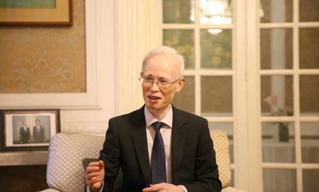 The Japanese Ambassador in Cairo Masaki Noke - Photo by Nourhan Magdi/Egypt Today