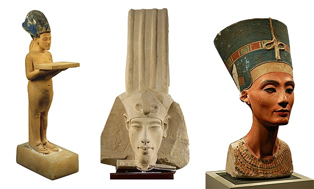Artificial archaeological samples related to the Ancient Egyptian civilization