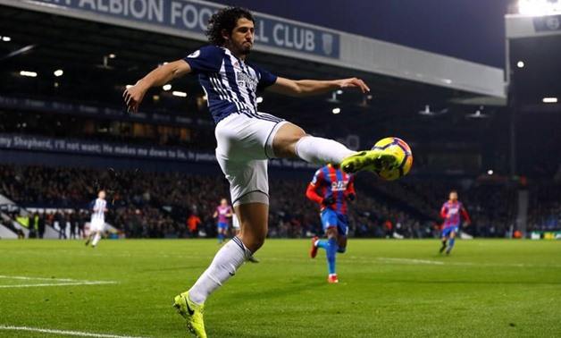 West Bromwich Albion's Ahmed Hegazi in action. Reuters/Jason Cairnduff
