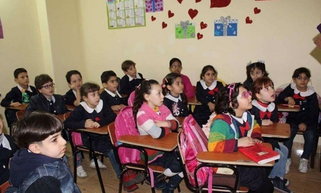 Pupils in Egyptian Schools - CC