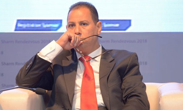 FILE - Head of the Egyptian Financial Supervisory Authority (EFSA) Mohamed Omran