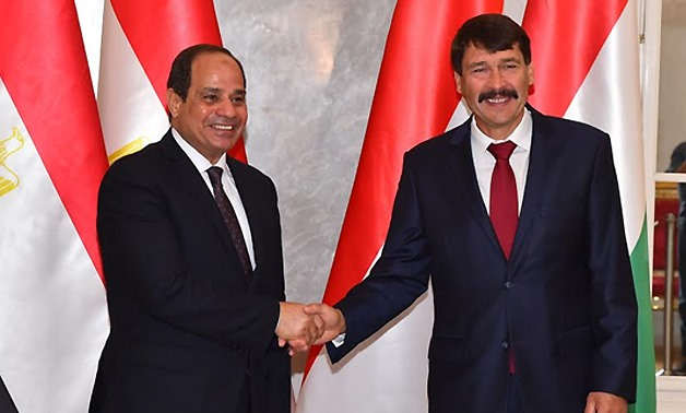 FILE: President Abdel Fattah El Sisi affirmed the importance of continuing to strengthen the relations between the two countries at various levels