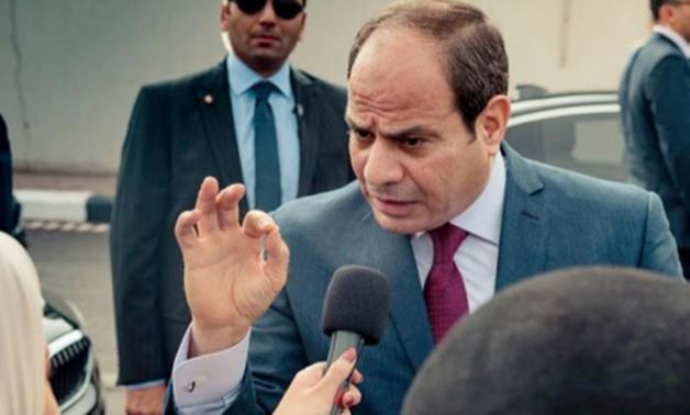 FILE: President Abdel Fatah al-Sisi -press photo