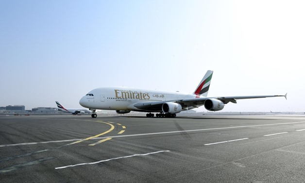 Emirates' award-winning A380 made its debut at Cairo International Airport (CAI)