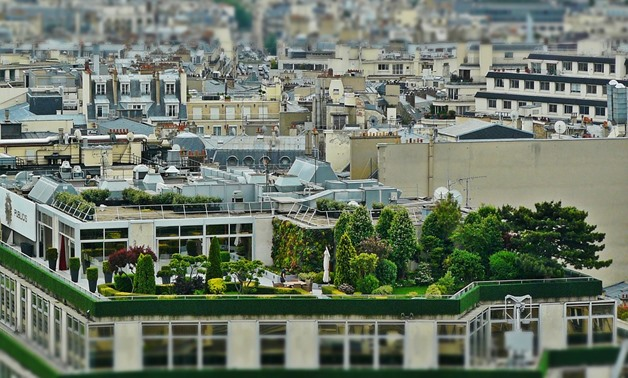 Caption: Roof garden- CC via Pixabay/cocoparisienne