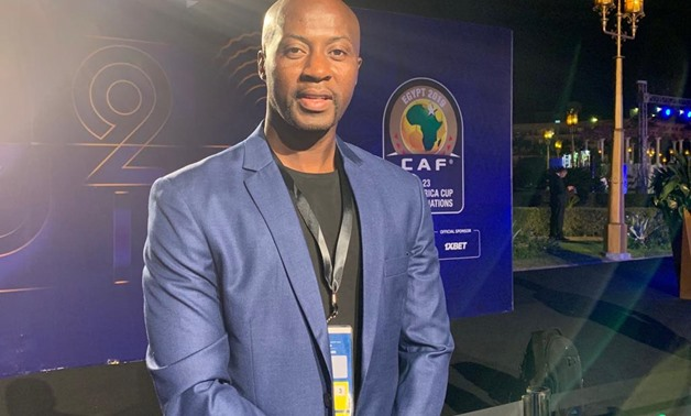 File- Ghana U-23 manager, Ibrahim Tanko, attended the draw ceremony