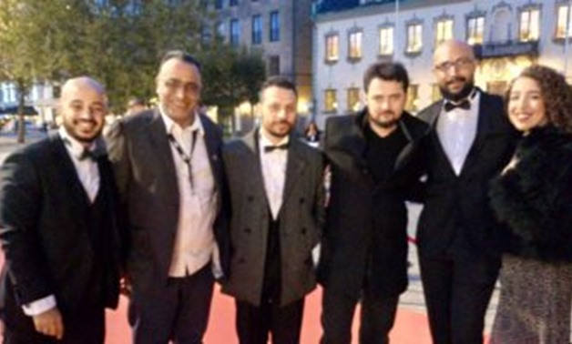 File -  Egyptian filmmakers at MAFF.