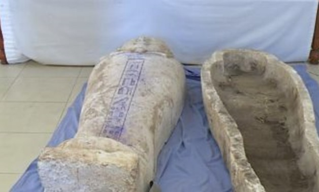 FILE: Security forces have arrested a criminal gang over illegal archaeological excavation in Giza governorate