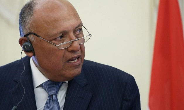 FILE - Egyptian Foreign Minister Sameh Shoukry - Reuters