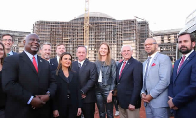 A delegation of US senators and representatives from South Carolina have toured Egypt's New Administrative Capital - Press photo