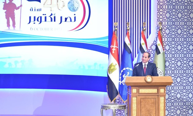 'We are a capable army': Egypt's president on threats
