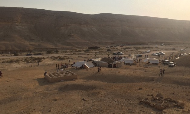 File- Egypt's first Festival of Nature Local Cultures at Wadi Degla Protected Area in Cairo- Egypt Today/Samar Samir