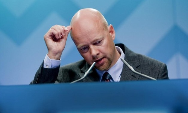 The fund's chief executive, Yngve Slyngstad, said that 'the return on the investments in global financial markets has been so high that it can be compared to having discovered oil again.' (AFP)