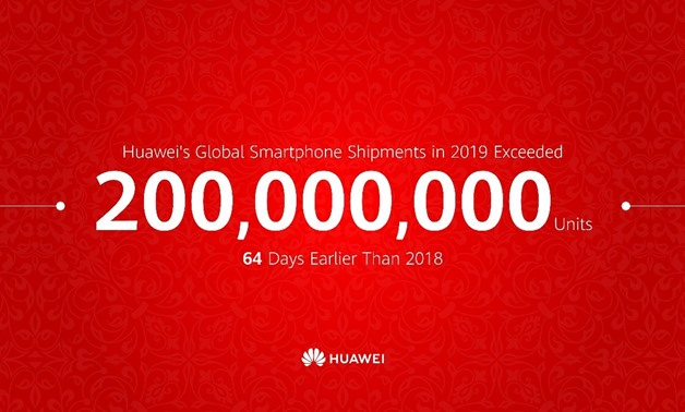 Huawei Consumer Business Group (CBG) announced that it has shipped 200 million smart phones to date in 2019