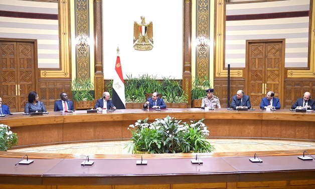 President Sisi welcomed the convening of the MSC Core Group Meeting for the first time in Cairo - Press Photo